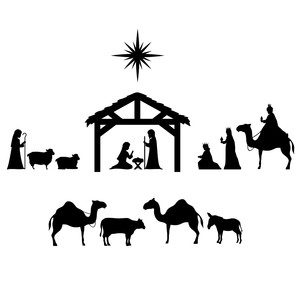 christmas nativity scene