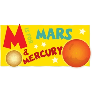 m is for mars & mercury