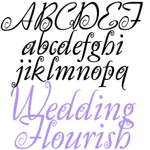 ld wedding flourish
