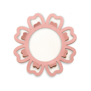 pop out petals flower frame