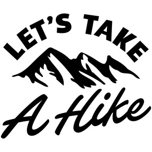 let's take a hike