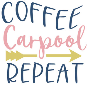 coffee carpool repeat
