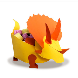 triceratops treat box