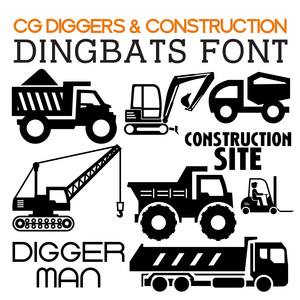 cg diggers & construction dingbats