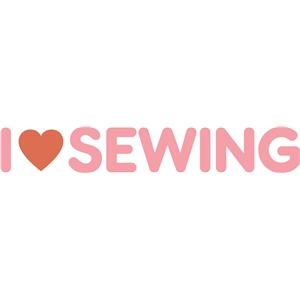 i heart sewing