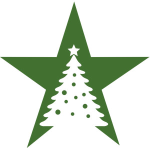 christmas star tree