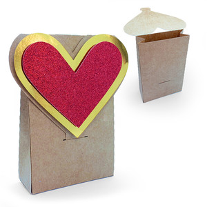 heart love bag