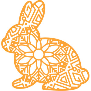 mandala rabbit
