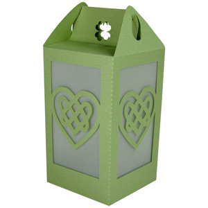 celtic heart lantern