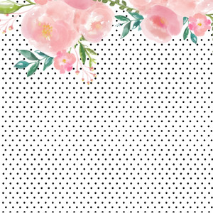 spotted floral background