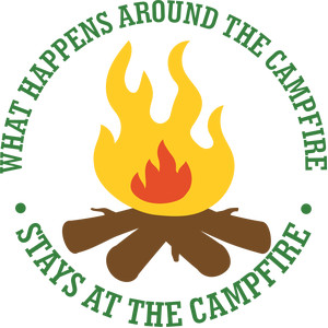 what happens around the campfire...