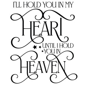 i'll hold you in my heart quote