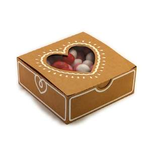 heart window 3d treat box