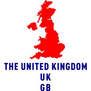 the united kingdom country outline