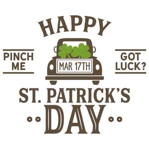 happy st. partick's day