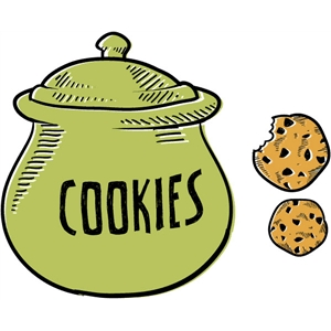 echo park cookie jar & cookies