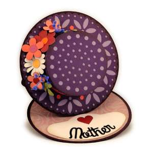mothers day 3d hat easel card