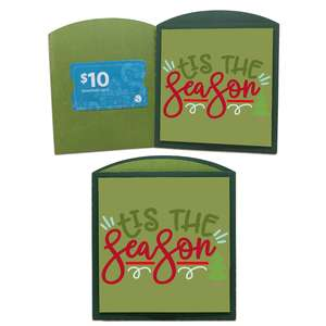 tis season gift card envelope