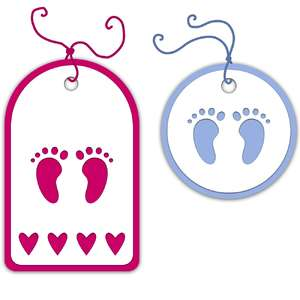 new baby gift tag