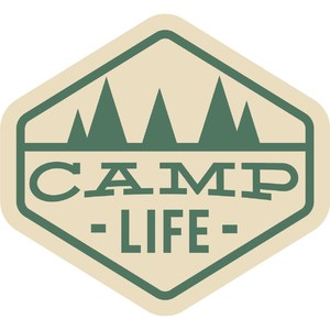 camp life badge