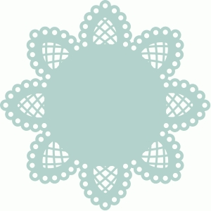 8 pointed doily