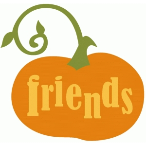 friends pumpkin