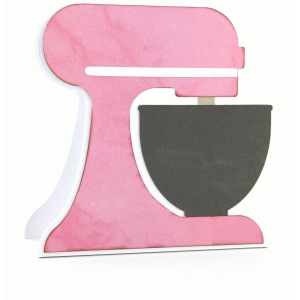 kitchen mixer shaped card