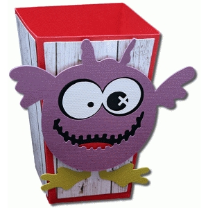 3d monster one popcorn box