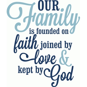 our love is founded on faith love god