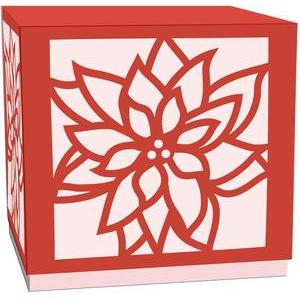 poinsettia gift box