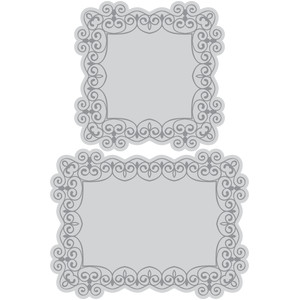 swirl frames and mats
