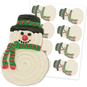 'snowman' cookie sheet