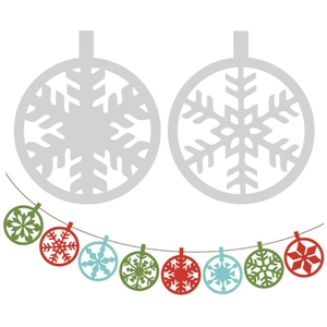 ornament banner kit & cookie stencils