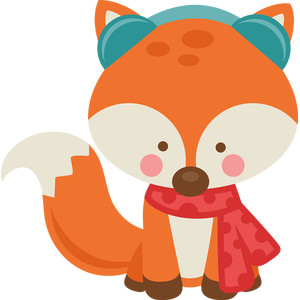 girl winter fox