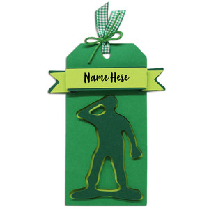 soldier gift tag