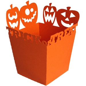 trick or treat halloween candy box
