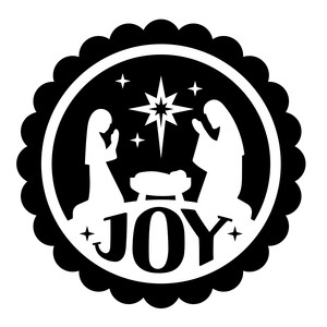 nativity circle joy
