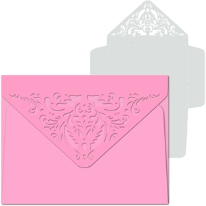 damask flap envelope