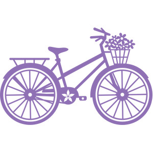 spring flowers bicycle