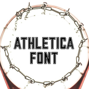athletica font