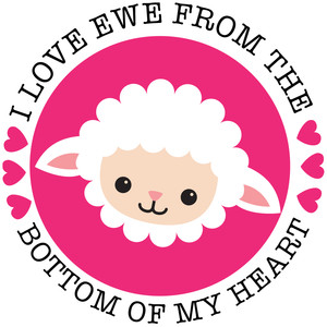 i love ewe from the bottom of my heart