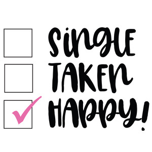 single taken happy