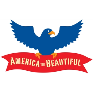 america the beautiful eagle