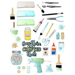 crafting planner stickers