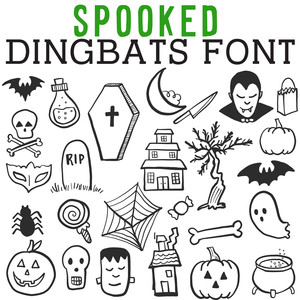 cg spooked dingbats