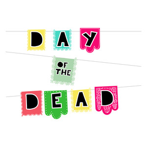 day of the dead banners