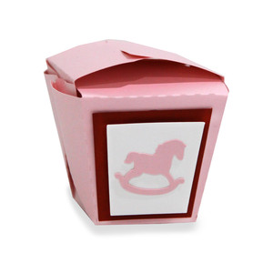 rocking horse chinese take out box