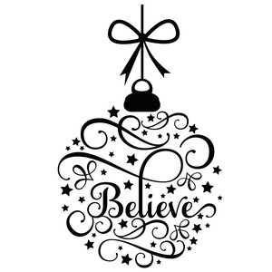 believe bauble