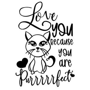 you are purfect