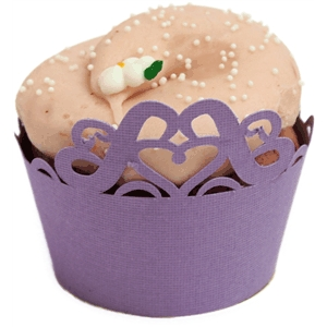 princess crown cupcake wrapper
